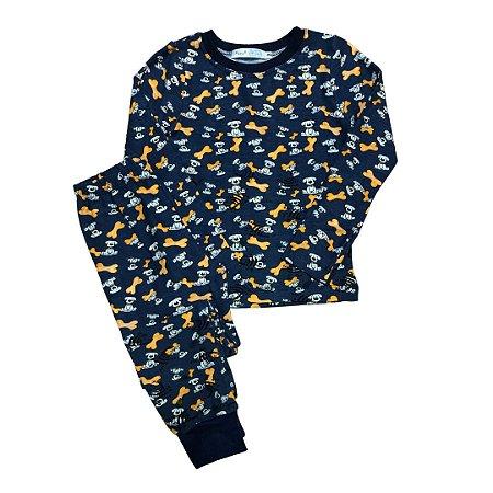 Pijama Infantil SLIM CACHORRINHOS