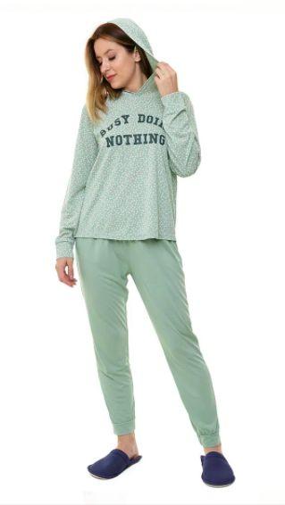 Pijama Feminino Jogging Verde