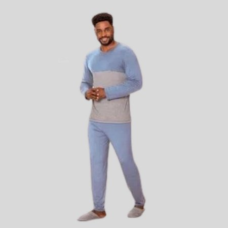 Pijama Masculino Jogging Azul