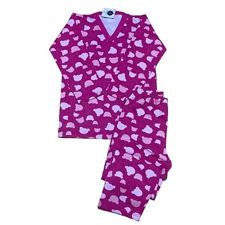 Pijama Flanela MINNIE PINK