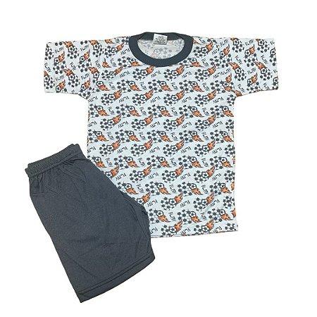Pijama Infantil Malha Fria FUTEBOL