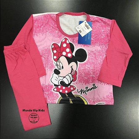 Pijama Infantil MINNIE LAÇO