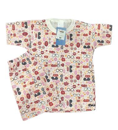 Pijama Infantil 100% Algodão Manga Curta ÓCULOS