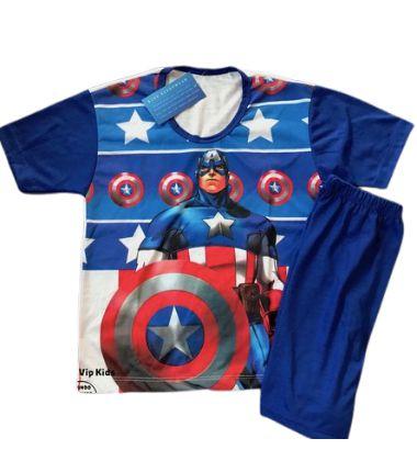Pijama Infantil CAPITÃO AMÉRICA