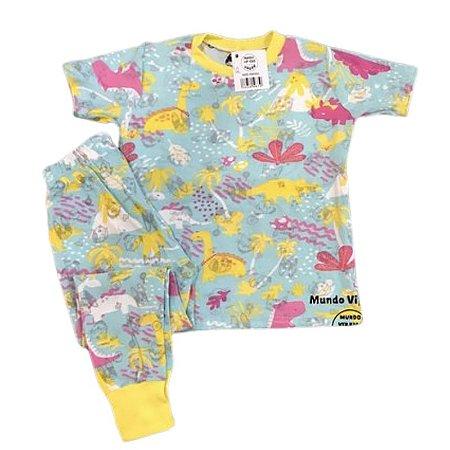 Pijama Infantil SLIM Dinossauros