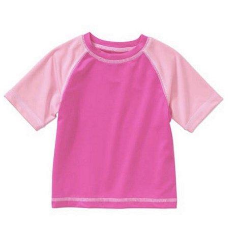 Camiseta Infantil Proteção Solar Rosa