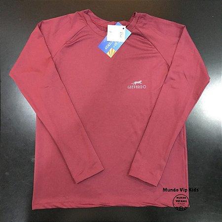 Camiseta Infantil Proteção Solar UPF 50+ Fucsia