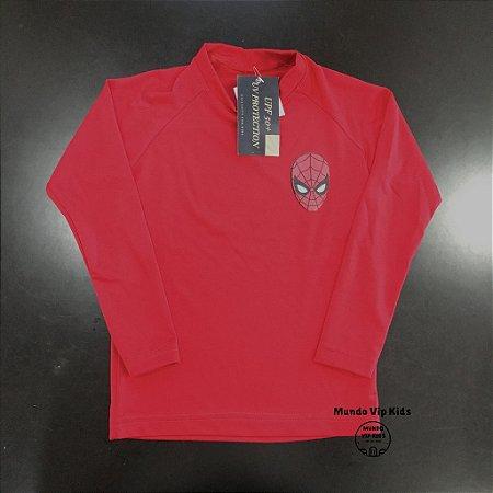 Camiseta Infantil Proteção Solar Homem Aranha