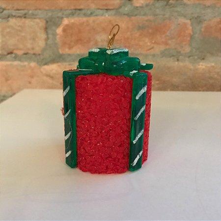 Luminária Presente Natal
