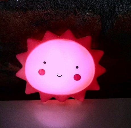Luminária Sol Rosa