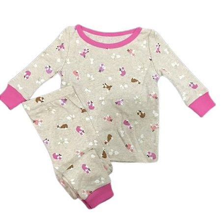 Pijama Infantil SLIM Raposinhas