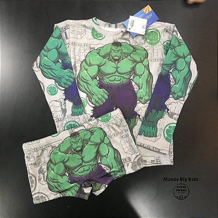 Cjto Infantil Proteção Solar Hulk