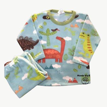 Pijama Infantil Soft DINO FLOREST