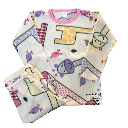 Pijama Infantil Soft GIRAFAS