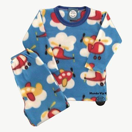 Pijama Infantil Soft HELICÓPTEROS