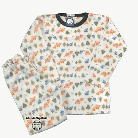 Pijama Infantil Soft RAPOSAS FLOREST