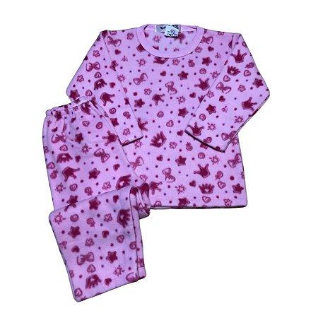 Pijama Infantil Soft COROAS