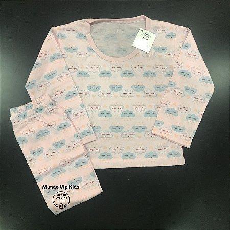 Pijama Infantil Malha Fria NUVENS