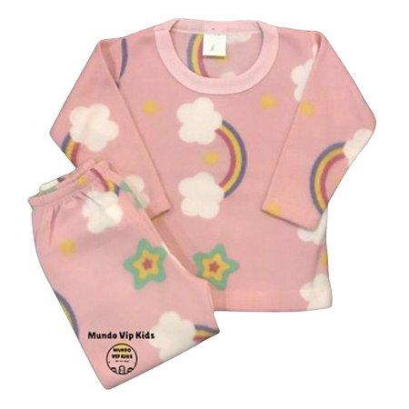 Pijama Infantil Soft ARCO-ÍRIS