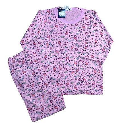 Pijama Infantil 100% Algodão SLEEP SAURUS