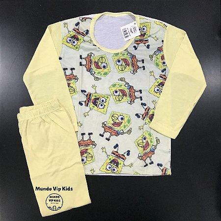 Pijama Infantil BOB SPONJA