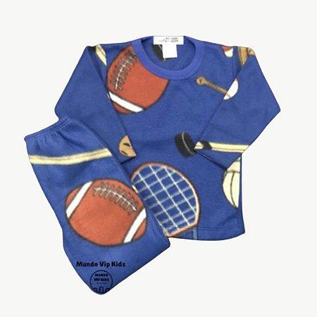 Pijama Infantil Soft RUGBY