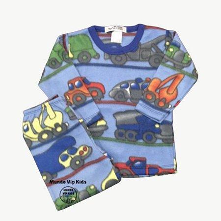 Pijama Infantil Soft CARROS