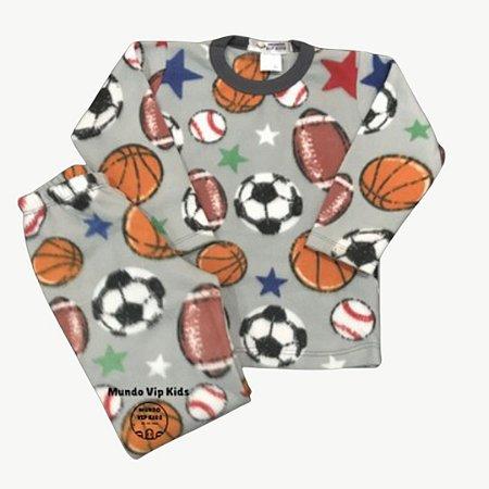 Pijama Infantil Soft SOCCER BALLS