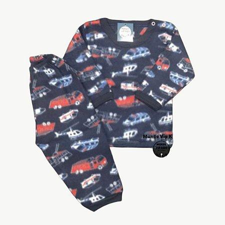 Pijama Infantil Soft Baby POLICE CARS