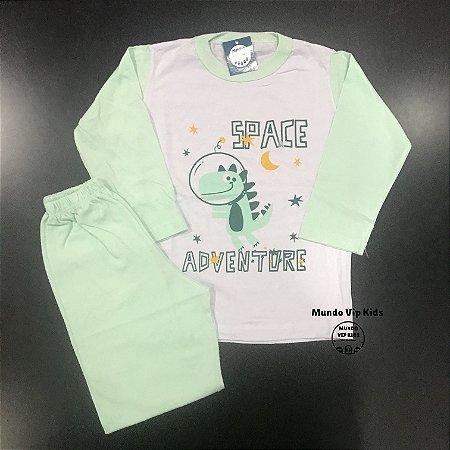 Pijama Infantil 100% Algodão SPACE ADVENTURE