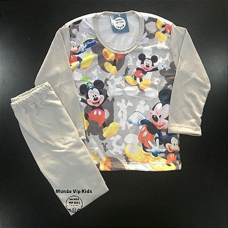 Pijama Infantil MICKEY GREY