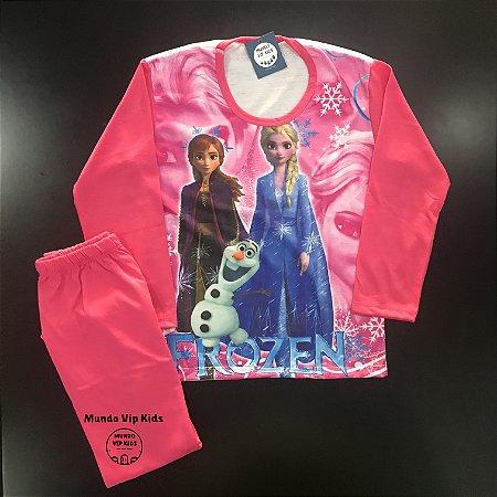 Pijama Infantil FROZEN NEW PINK