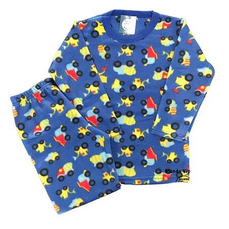 Pijama Infantil Soft TRATORES COLOR