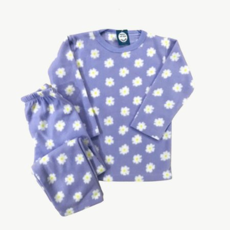 Pijama Infantil Soft MARGARIDAS LILÁS