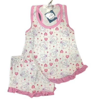 Pijama Infantil 100% Algodão Short Doll  URSINHOS