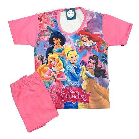 Pijama Infantil PRINCESAS ROSA