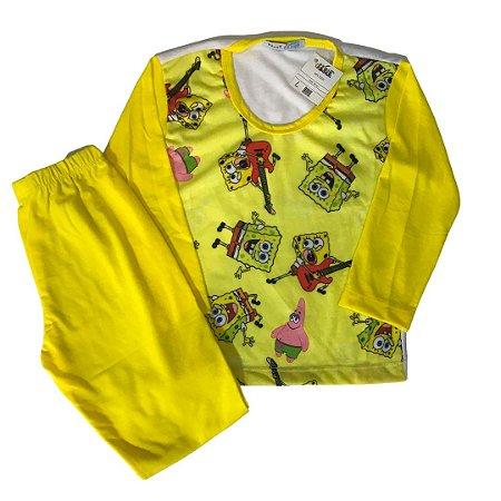 Pijama Infantil PJ BOB SPONJA