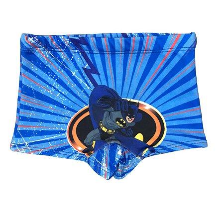 Sunga Boxer Infantil Proteção Solar BATMAN