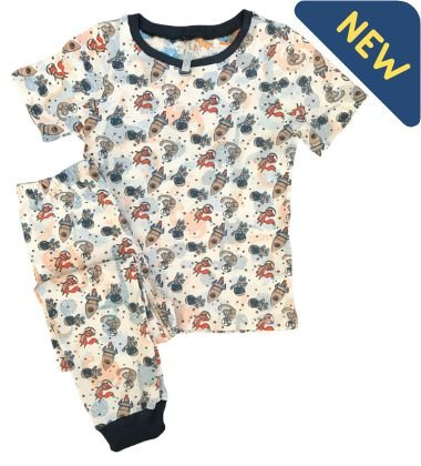Pijama Infantil SPACE