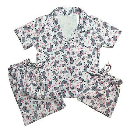 Pijama Camisa infantil LHAMAS