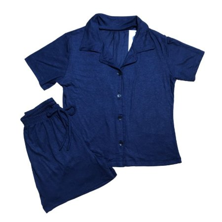 Pijama Camisa Mamãe MARINHO