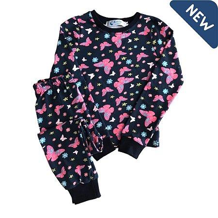Pijama Infantil SLIM BORBOLETAS
