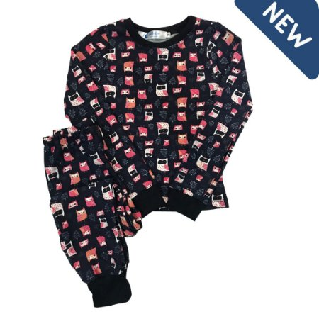Pijama Infantil SLIM CORUJAS