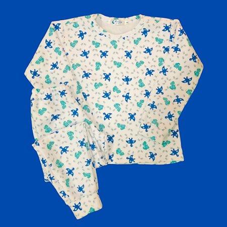 Pijama Infantil Soft Punho DINOS