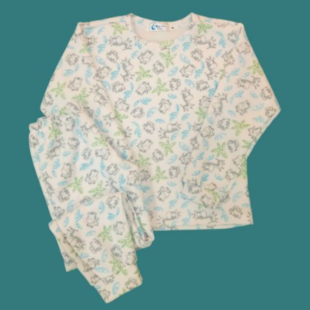 Pijama Infantil Soft Punho SAFARI