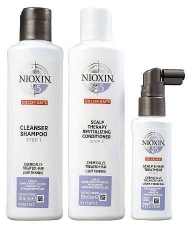 Kit Nioxin System 5 Small (3 Produtos)