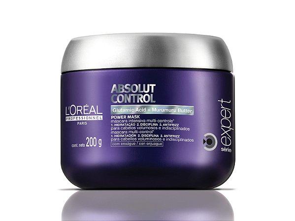 L'Oréal Professionnel Expert Absolut Control Power Mask - Máscara Capilar 200g