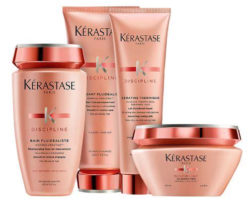 Kit Kérastase Discipline Fluidissime Keratine (4 Produtos)