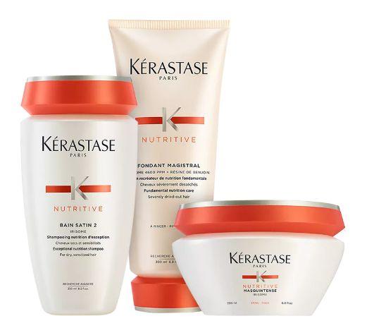 Kit Kérastase Nutritive Satin Magistral (3 produtos)