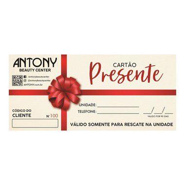 Voucher Antony R$ 100,00